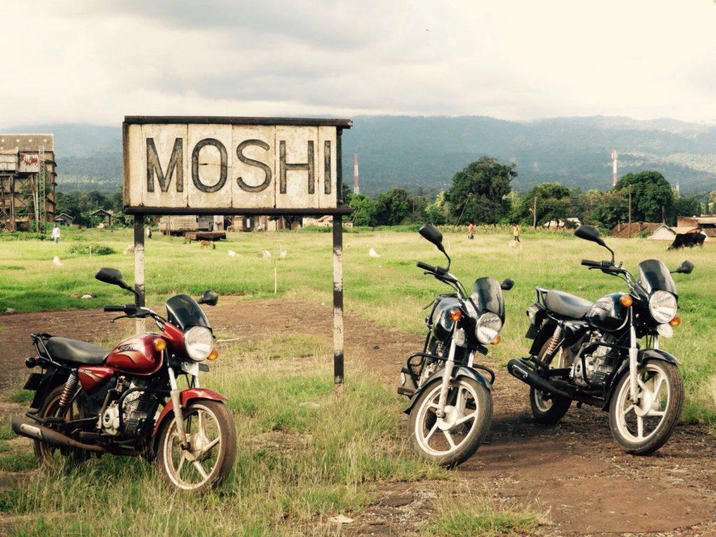 Railway Sign Moshi